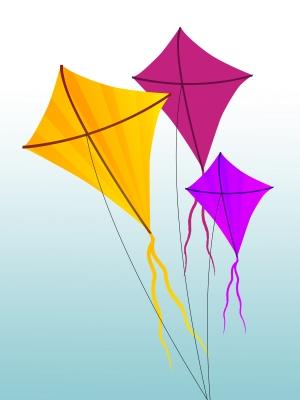 """Colorful Kites"" by Salvatore Vuono"