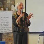 Barbara Marx Hubbard at the CIW Board Meeting 2015